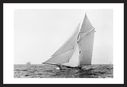 Vintage Sailboats - Sloop Kathleen 1891 - Art Prints  for Home & Office Interiors