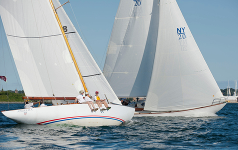 Angelita and Siren at the Museum of Yachting - IYRS Classic Regatta in Newport, RI
