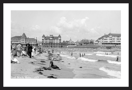 York Beach, Maine - 1906