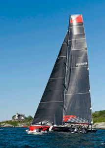 Comanche at the Newport to Bermuda Start 2016