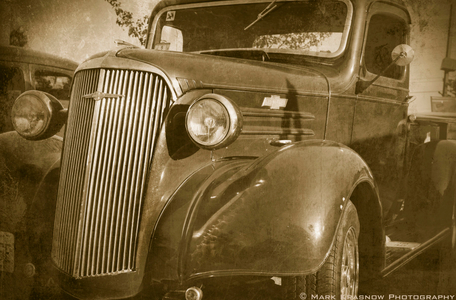 Old Chevy Pick-Up Truck with Effects
