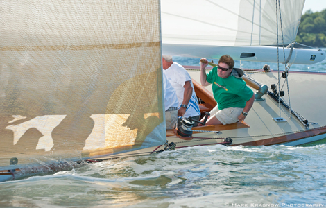 Quest - An 8mR Yacht at the Museum of Yachting - IYRS Regatta in Newport, Rhode Island