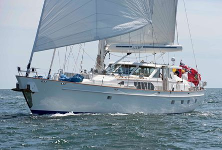 Altair at the Newport to Bermuda Start 2016