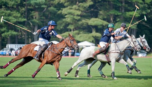 Polo matches at Myopia Polo Grounds in Wenham