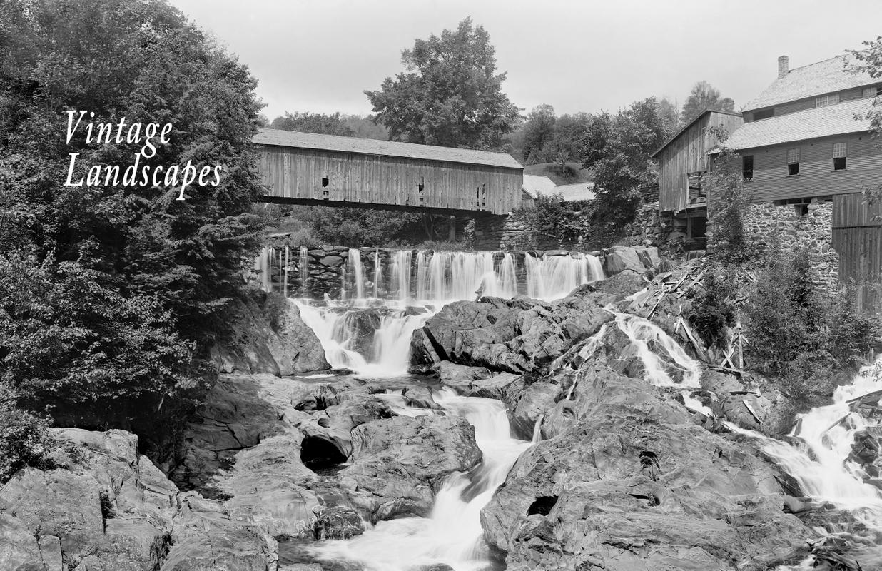 Brockway Gorge in Vermont - Early 1900's.jpg