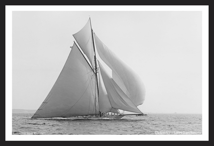 America's Cup - Defender - 1899 at Larchmont - Art Prints  for Home & Office Interiors