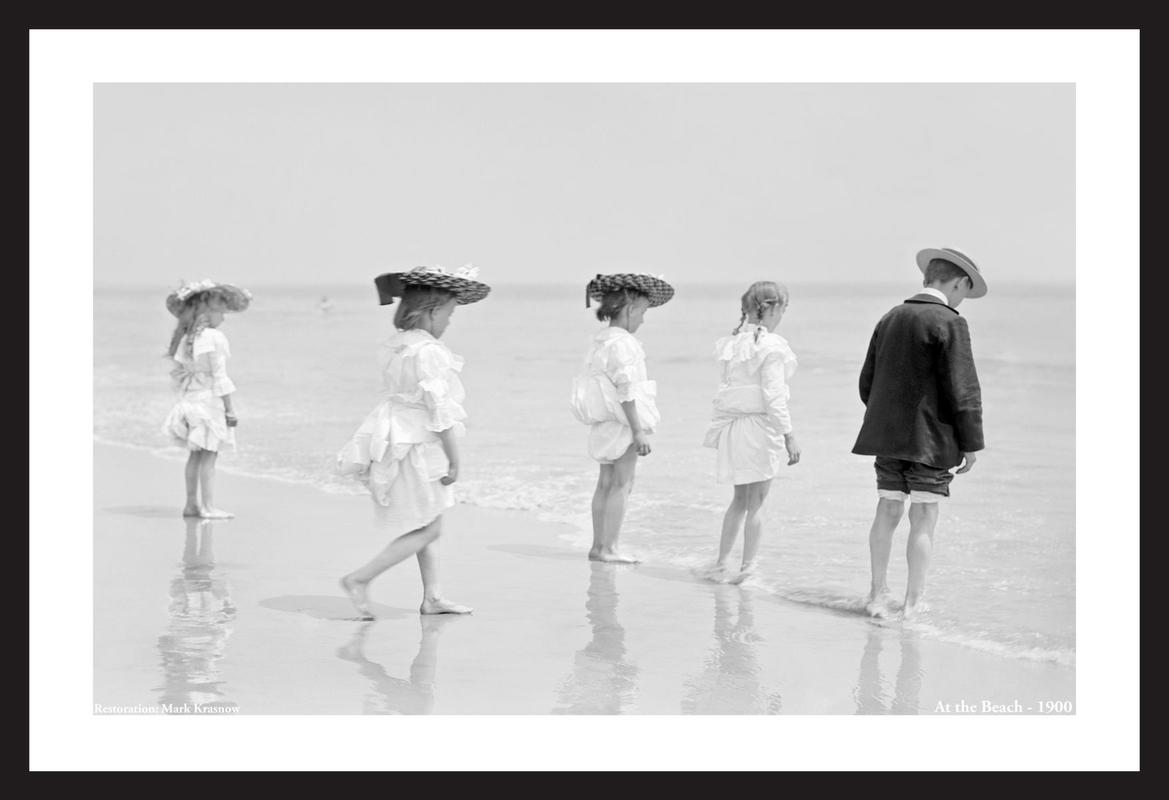 At the Beach -1900