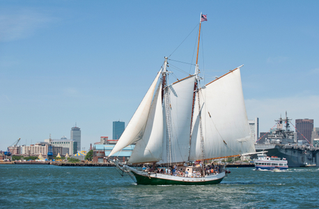 Schooner Liberty Clipper in Boston, MA