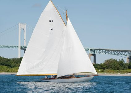 NY30 Cara Mia at the Museum of Yachting - IYRS Regatta, Newport, RI