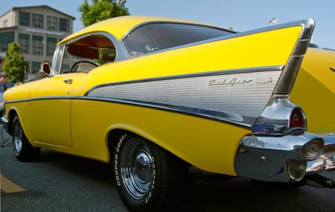 Chevy Bel Air Classic Car art print