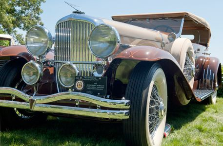 Duesenberg 1932 classic car photography print