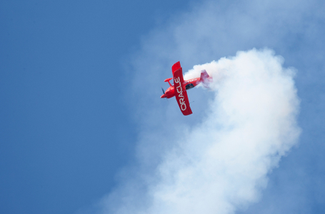 Oracle biplane acrobatic pilot Sean Tucker photo print 1