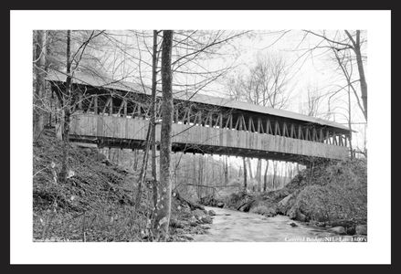 Covered Bridge NH - Late 1800's