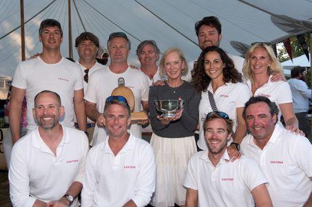 Winning Crew of Santana