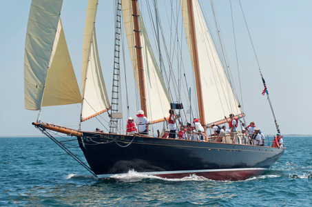 "Patton's Schooner ""When and If"" at the Opera House Cup, Nantucket, MA 2015"