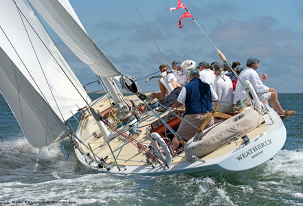 12 Metre Weatherly at The Opera House Cup - Nantucket, MA  2016
