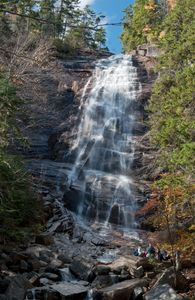 Arethusa Falls in the White Mountains of NH