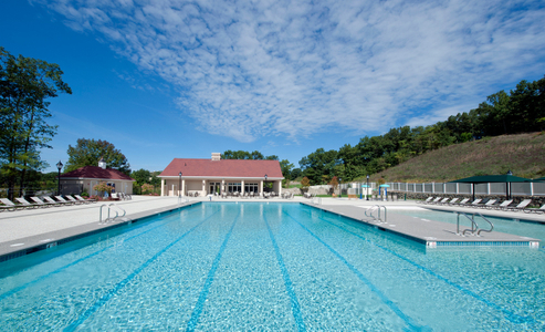 Country Club Swimming Pool Complex