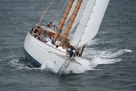 Schooner Namea  at the Candy Store Cup Newport, RI