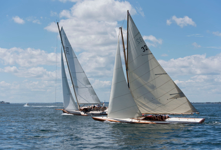 Classic Tilly XV and Race Horse in Marblehead, MA