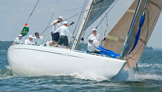 12 Metre Courageous Racing in Newport, RI