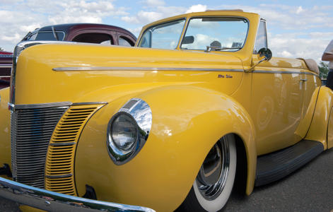 Ford Deluxe Convertible photography art print