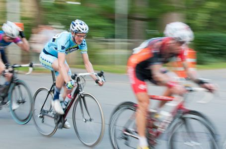Annual Gran Prix bicycle race in Beverly