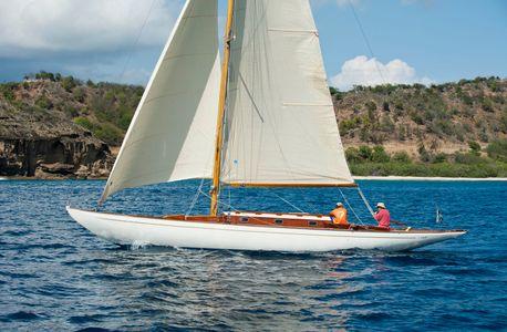 Seefalke II at the Antigua Classic Yacht Regatta 2016