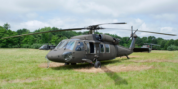 Blackhawk Helicopter at Quonsett RI