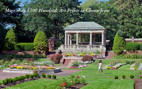 Lynch Park Gazebo and Formal Garden - Beverly, MA