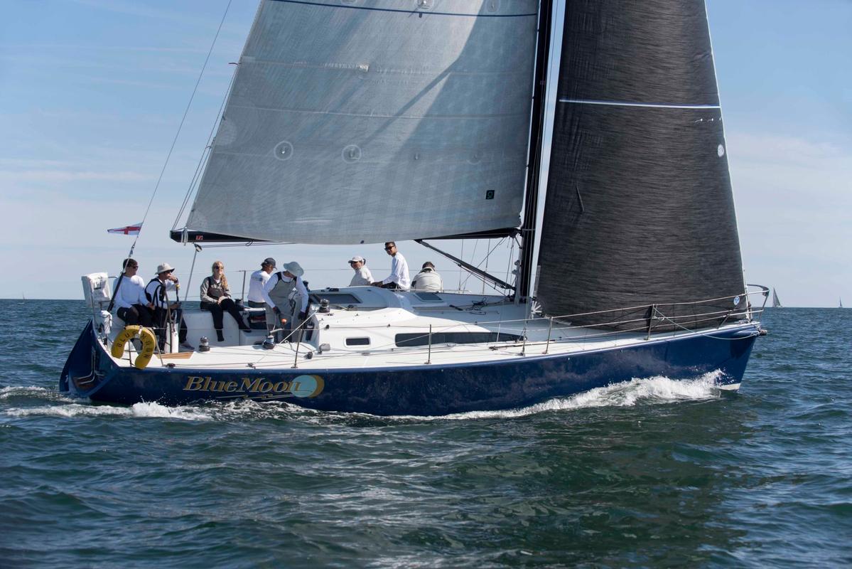 Blue Moon at the Newport to Bermuda Start 2016