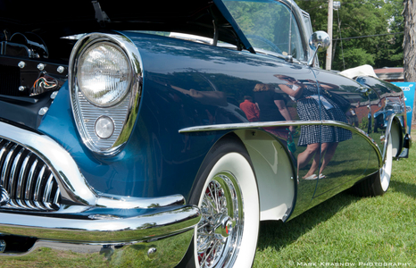 Oldsmobile Classic Car at Misselwood car Show