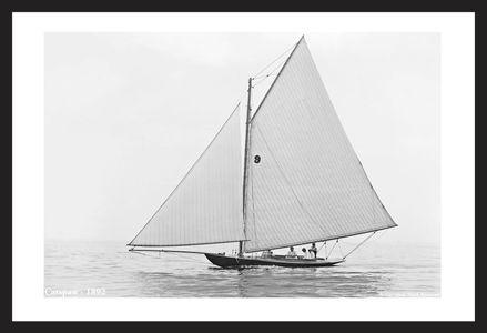Catspaw - 1892 - Vintage Sailboats