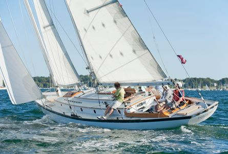 Fortune at the Museum of Yachting - IYRS Regatta in Newport, RI
