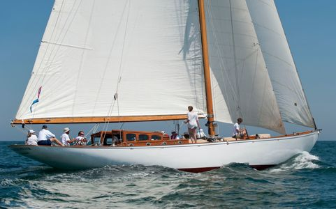 Classic Mylne Design Cutter The Blue Peter of London in Nantucket, MA