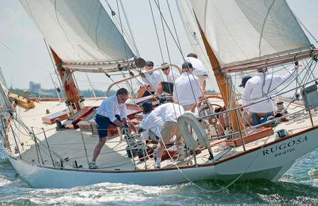 NY 40 Rugosa  Racing at the NYYC Classic Regatta  in Newport, RI