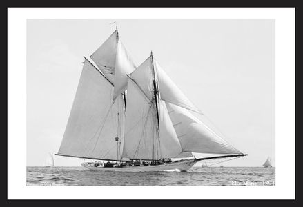 Vintage Sailboats - America's Cup - Restored Sailing Art Prints for Home & Office