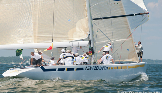 12 Metre New Zealand Racing in Newport, RI