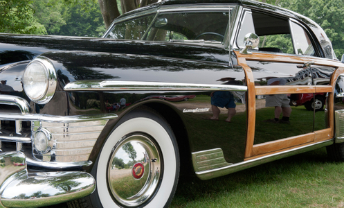Chrysler Town & Country photography art print