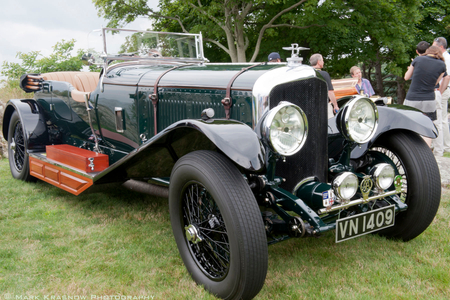 Vintage Bentley at Misselwood Car Show Beverly, MA