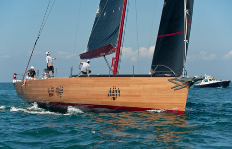 Foggy - Winner of the Opera House Cup in Nantucket, MA - Built at Brooklin Boat Yard ME