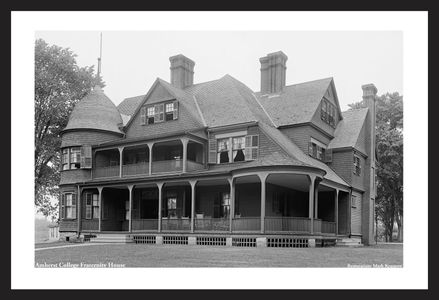 Amherst College Fraternity House - Early 1900's