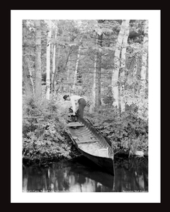 Bartlett's Carry, Round Lake, Adirondacks 1902