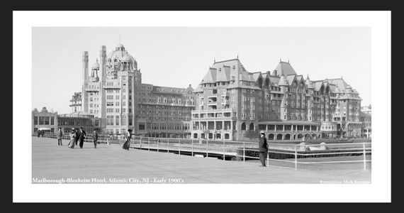 Marlborough-Blenheim Hotel, Atlantic City, NJ, Early 1900's
