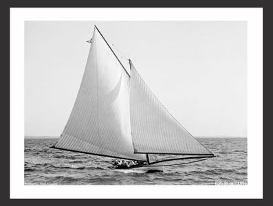 EZ Sloat - 1896 - Vintage Sailing Art Print