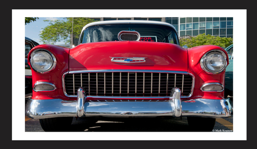 Classic Chevy Muscle Car