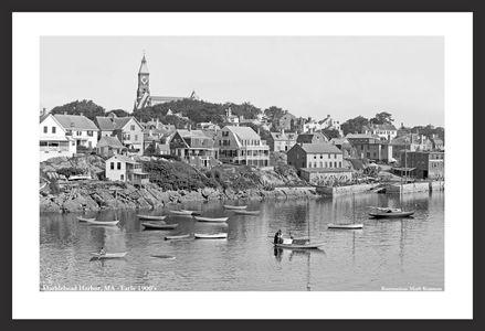 Marblehead Harbor - early 1900's