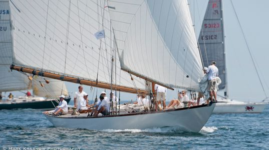 NY50 Spartan at the Corinthian Classic Marblehead - MA