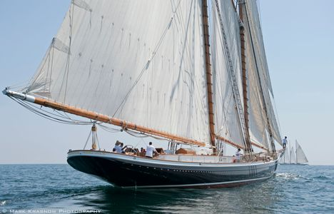 Schooner Columbia at the Candy Store Cup 2016
