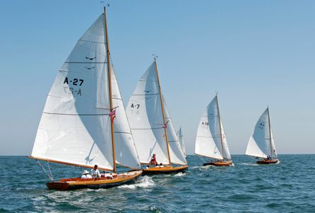 Alerion Class at the Opera House Cup, Nantucket, MA 2015